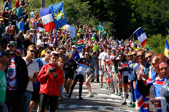 Tour de France crowds